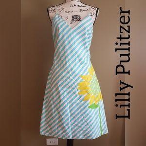 Lilly Pulitzer Sun Sunflower Dress size 12
